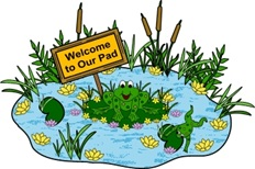welcome to our pond